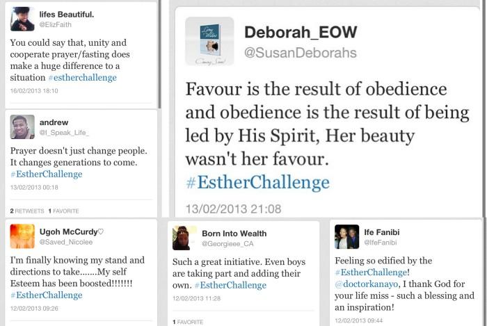 Esther Challenge