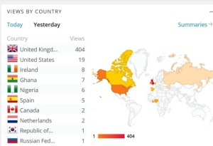 See how many were involved all over the world on the first day!