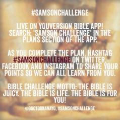 Samson Challenge