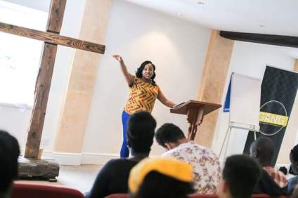 At LICF's Youth Retreat, 2016