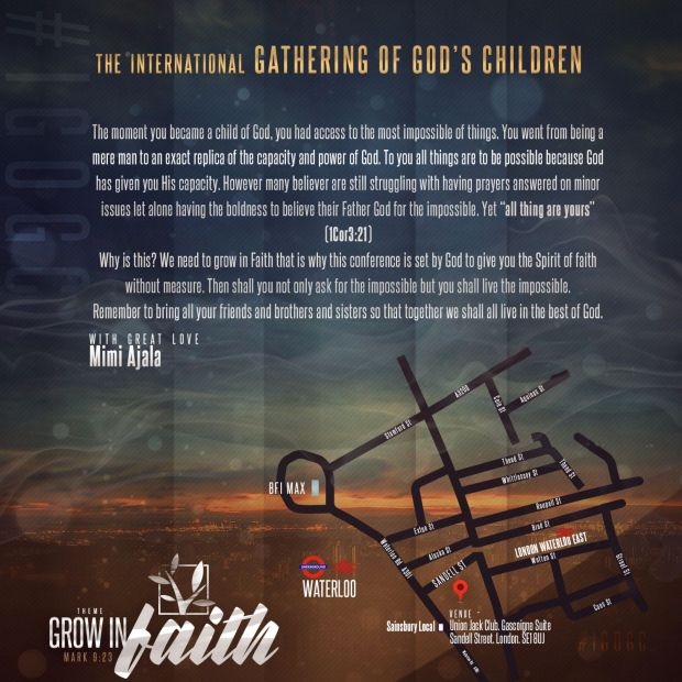 Grow in Faith info