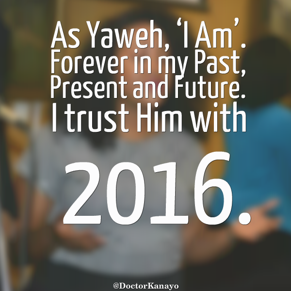 I trust Him with 2016