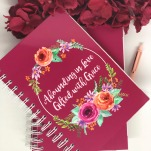 Abounding in Love, Gifted With Grace Devotional Journal (Psalm 103:8) - Spiral bound