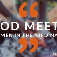 God meets women in the 'ordinary'